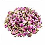 TooGet Rose Naturel parfumé Rose Bourgeons Pétales de Rose Séchés Bio Damas Séchés en Gros, de qualité Alimentaire culinaire - 60g