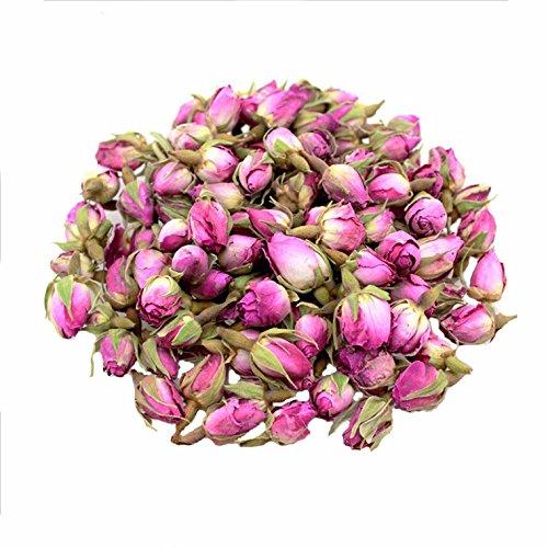 TooGet duftende natürliche Rosa Rosenknospen Rosenblüten Organisch getrocknet Rosa Damascena Großhandel, kulinarische Klasse - 60g