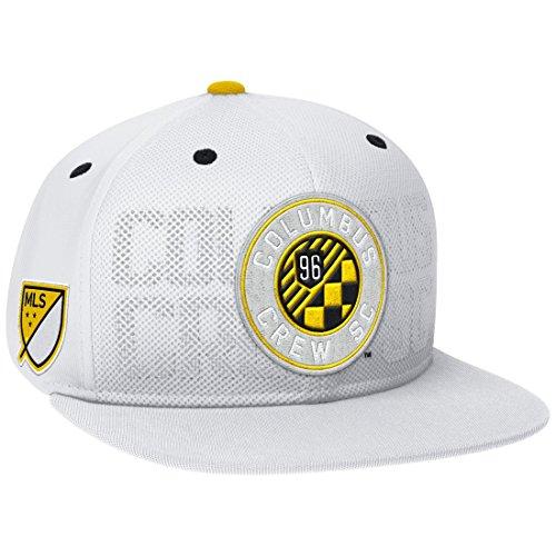 Columbus Crew Adidas MLS Authentic Team Performance Snap Back Hat (Columbus Crew Hat)