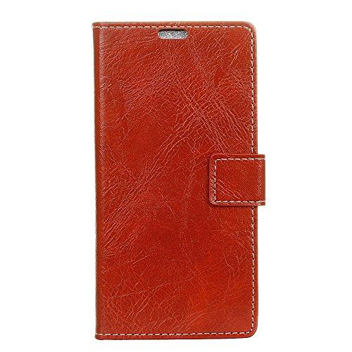 Casefirst Google Pixel 2 XL Case Wallet Leather, Google Pixel 2 XL Case with Card Holder and Kickstand, Google Pixel 2 XL Wallet Case with Back Shell, Back Shell Case Cover for Google Pixel 2 XL Red -