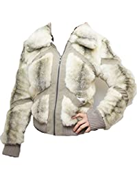 TOP SHOP Beige Ultra Soft Faux Fur Outer Fully Lined Coat