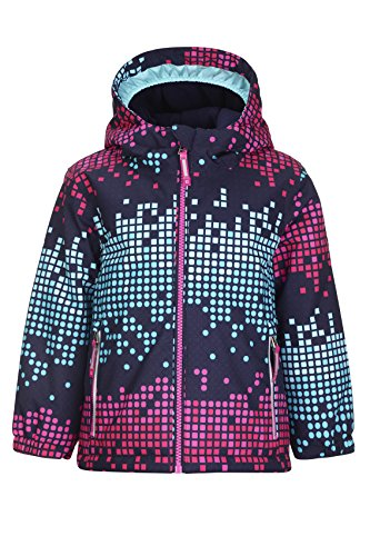 Killtec Mädchen Kicky Allover Mini Winterjacke pink 98/104