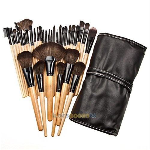 32pcs Pinceau Cosmétique Outil de Maquillage Professionnel Set + Pochette de Rangement