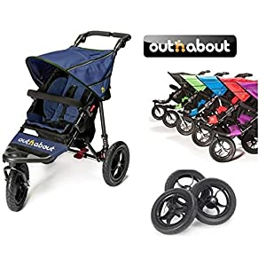 Out n About V4 Nipper Single with EVA Wheel Set - Royal Navy   5