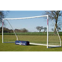 New 16x7ft 9v9 Samba Match Goal with Locking System & Carry Bag