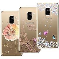 Yokata [3 Packs] Samsung Galaxy A8 2018 Hülle Transparent Weiche Silikon Handyhülle Schutzhülle TPU Bumper Ultra... preisvergleich bei billige-tabletten.eu