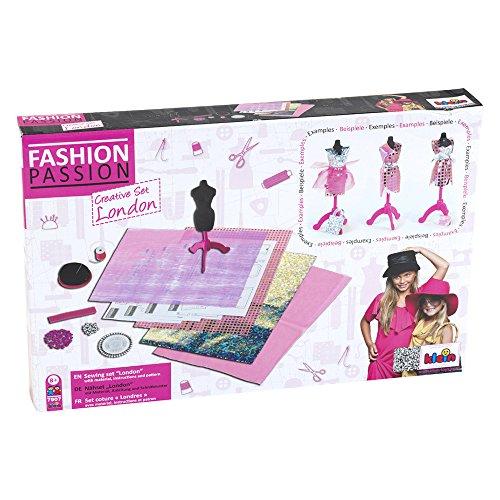 """Klein - 7907 - Kit de loisirs créatifs - Kit de couture """"Londres"""" Fashion Passion"""