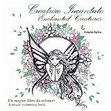 Creature Incantate. Enchanted Creatures. Colouring book