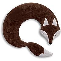 Leschi | Almohadilla de calor (para las cervicales y los hombros) | 36865 | El zorro Noah | Color: Chocolate / Medianoche