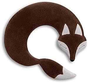 leschi coussin chauffant nuque et paules 36865 noah le renard couleur chocolat. Black Bedroom Furniture Sets. Home Design Ideas