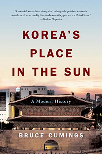 Korea's Place in the Sun: A Modern History por Bruce Cumings