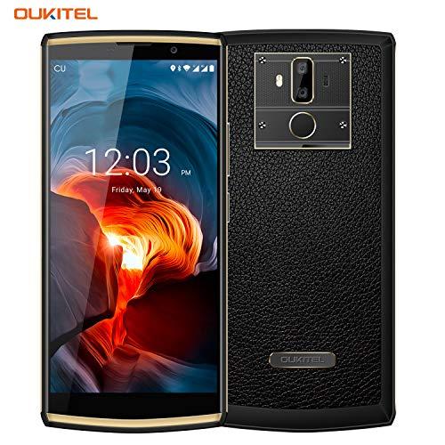10000mAh Handy ohne Vertrag, OUKITEL K7 6 Zoll FHD+ Dual SIM Smartphone 18:9 Display 4GB RAM 64GB ROM Octa Core Android 8.1 (13MP+2MP Hintere Kamera, 5MP Vordere Kamera) 9V/2A Quick Charge