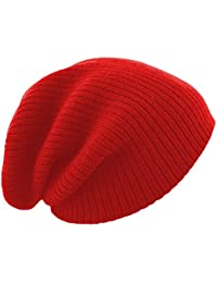 Unisex Slouch Winter Beanie Hat Plain Beanie Ski Winter Hat Design in UK