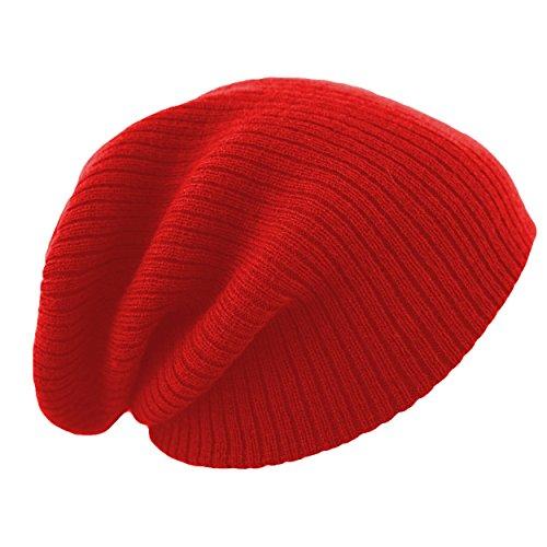 Unisexe Garçon Fille Skullies Bonnets Bonnet Fourré Hiver Pour Bonnet Ticoté Avec Plusieurs Coloris Taille Unique brand 4sold red