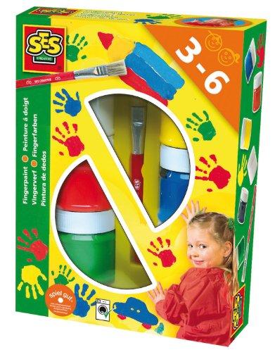 ses-creative-00306-fingerfarbe-6-farben-je-50-ml