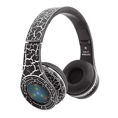 OPAKY Drahtlose Kopfhörer Bluetooth 4.1 Headset-Rauschunterdrückung über Ohr mit Mikrofon,für iPhone, iPad, Samsung, Huawei,Tablet usw.