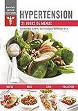 Hypertension - 21 jours de menus