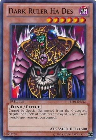 Yu-Gi-Oh! - Dark Ruler Ha Des (BP01-EN122) - Battle Pack: Epic Dawn - 1st Edi... (Dark Ruler Ha Des)