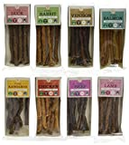 J R Pet Products Pure Dried 100% Fresh Meat Dog Treat Sticks 8 x 50g Variety Bundle