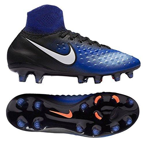 Nike Unisex-Kinder Jr Magista Obra Ii Fg Stollenschuh, blau/schwarz, 38.5 EU (Magista Schuhe Fußball Nike)