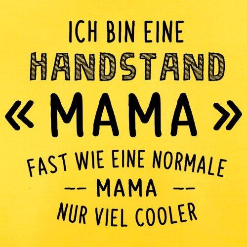 Ich bin eine Handstand Mama - Herren T-Shirt - 13 Farben Gelb