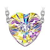 Susan Y Collar de Mujer Plata de Ley 925 con Cristales de Swarovski...