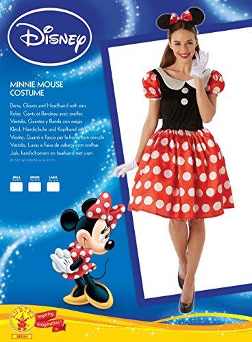 Imagen de rubbies  disfraz de minnie para mujer, talla s r888584 s  alternativa