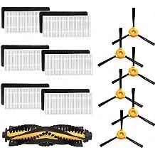 Amoy Kit de Piezas de Repuesto de Repuesto Conga Excellence Eufy RoboVac 11 RoboVac 11c Ecovacs