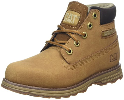 Caterpillar Founder, Bottes Chukka Homme, Marron (Kids Bronze Brown), 34 EU