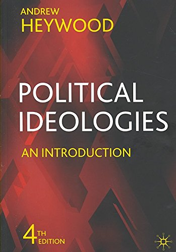Portada del libro [(Political Ideologies : An Introduction)] [By (author) Andrew Heywood] published on (June, 2007)