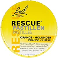 Bach Original Rescue Pastillen Orange Holunder 50 g preisvergleich bei billige-tabletten.eu