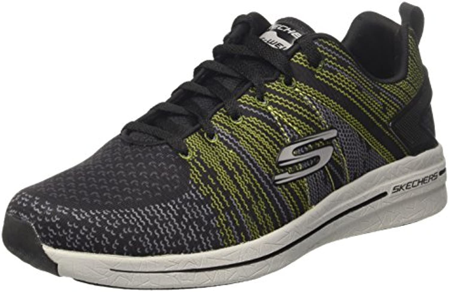Skechers Herren Burst 2.0 in The Mix Ii Sneakers  Schwarz BKLM