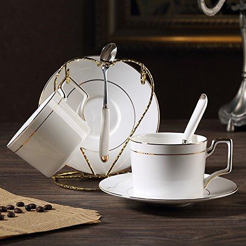 TAOTINGYAN Espressotassen Set Aus Porzellan Nachmittags Tee Kaffee Tee Tasse Tasse Bone China Kaffeetasse Teller, Zwei Cup China Tee-set Für Zwei
