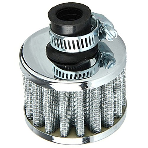 air-intake-filter-sodialrcar-motor-cold-air-intake-filter-turbo-vent-crankcase-breather-silver