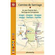 Camino de Santiago Maps: St. Jean Pied de Port - Santiago de Compostela (Dutch Edition)