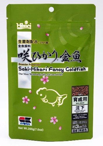 Saki Hikari Fancy Goldfish Balance 200g (7oz) Breeder Preferred Premium Diet by Kyorin -