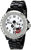Disney Damen w001637Mickey Maus Analog Display Analog Quartz Black Watch