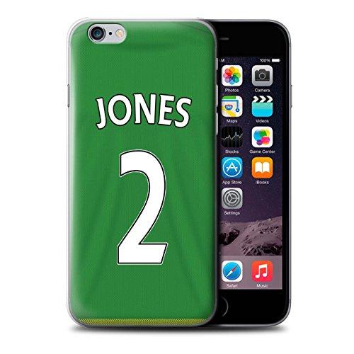 Officiel Sunderland AFC Coque / Etui pour Apple iPhone 6S / Brown Design / SAFC Maillot Extérieur 15/16 Collection Jones