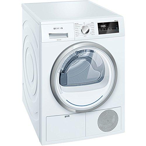 Siemens WT45N200GB iQ300 iSensoric 8kg Freestanding Condenser Tumble Dryer-White