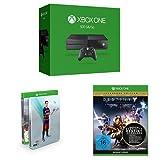 Xbox One 500 GB 2015 + FIFA 16 - Steelbook Edition + Destiny - König der Besessenen