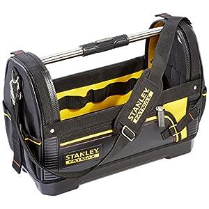 Stanley FatMax 1-93-951 – Bolsa abierta para herramientas, Negro, 48 x 33 x 25 cm