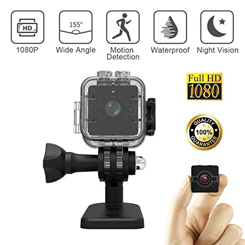 Wide angle mini waterproof HD action camera,