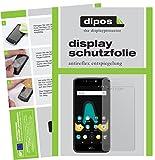 dipos I 2X Schutzfolie matt passend für Wiko Upulse Lite Folie Bildschirmschutzfolie