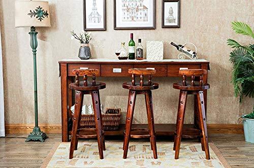 Udane bei mobili sgabello da bar in stile europeo sgabello da bar