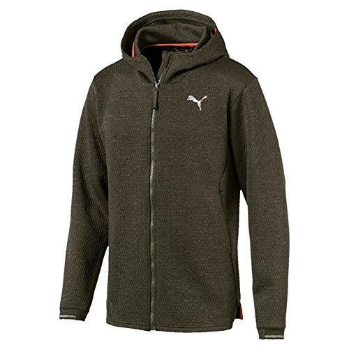 Puma Herren N.R.G. Fullzip Jacket Jacke, Forest Night Heather, L
