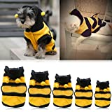 #1: Generic Pet Hoodie Clothes Dog Cat Coat Puppy Apparel Fancy Bee Costume Outfit S