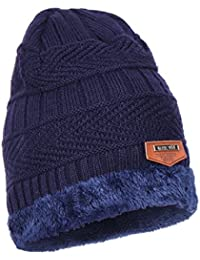 iSweven Fashionable Woolen Beanie Cap for Men- (4014, Free Size)