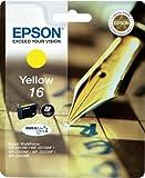 Epson Original T1624 Füller, wisch- und wasserfeste Tinte (Singlepack) gelb