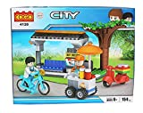 #10: BabytintinTM Cogo City Building Blocks Models 154 Pcs(Blue)