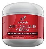 Artnaturals cellulite crema trattamento con Retinolo–120ml–contiene caffeina e alghe–corpo rassodante, potenziamento e tonificazione–Erase fossette dalle gambe, braccia, addominali e glutei